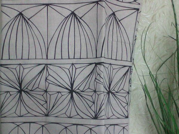 аукцион на льняные  шторы