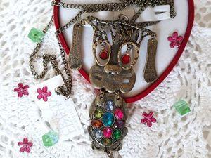 Розыгрыш Конфетки! с элементами кристаллами Swarovski. Ярмарка Мастеров - ручная работа, handmade.