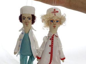 Новая бригада врачей. Ярмарка Мастеров - ручная работа, handmade.