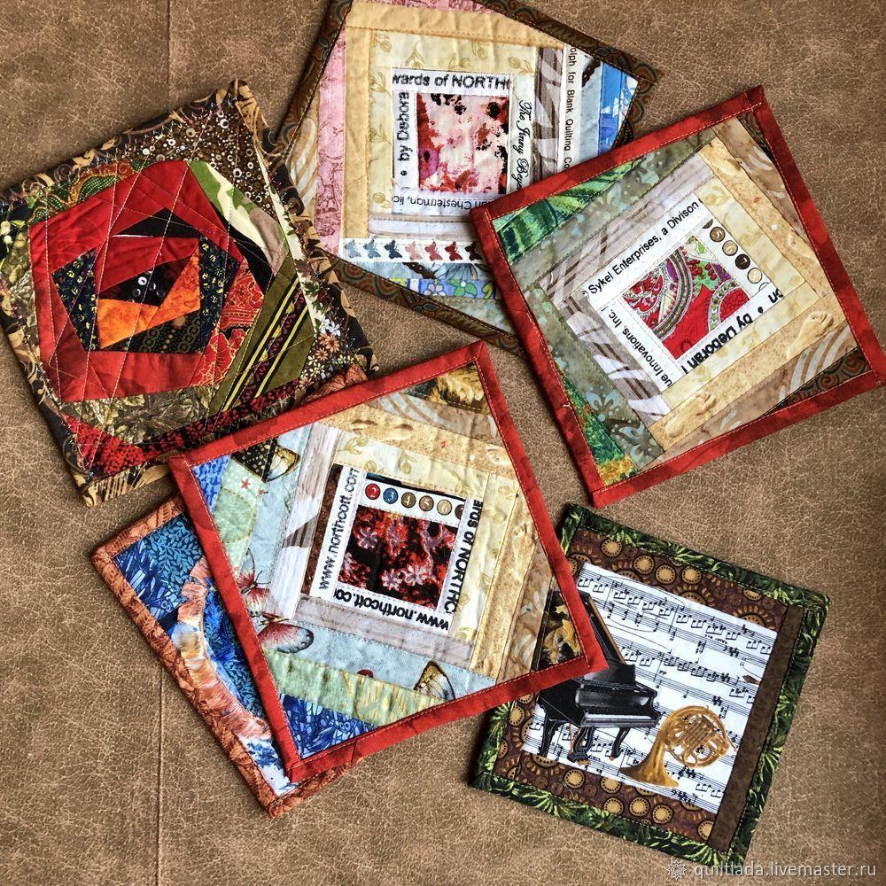 Как сделать новогодний подарок? Текстильный ланчмат своими руками, часть 4, фото № 3