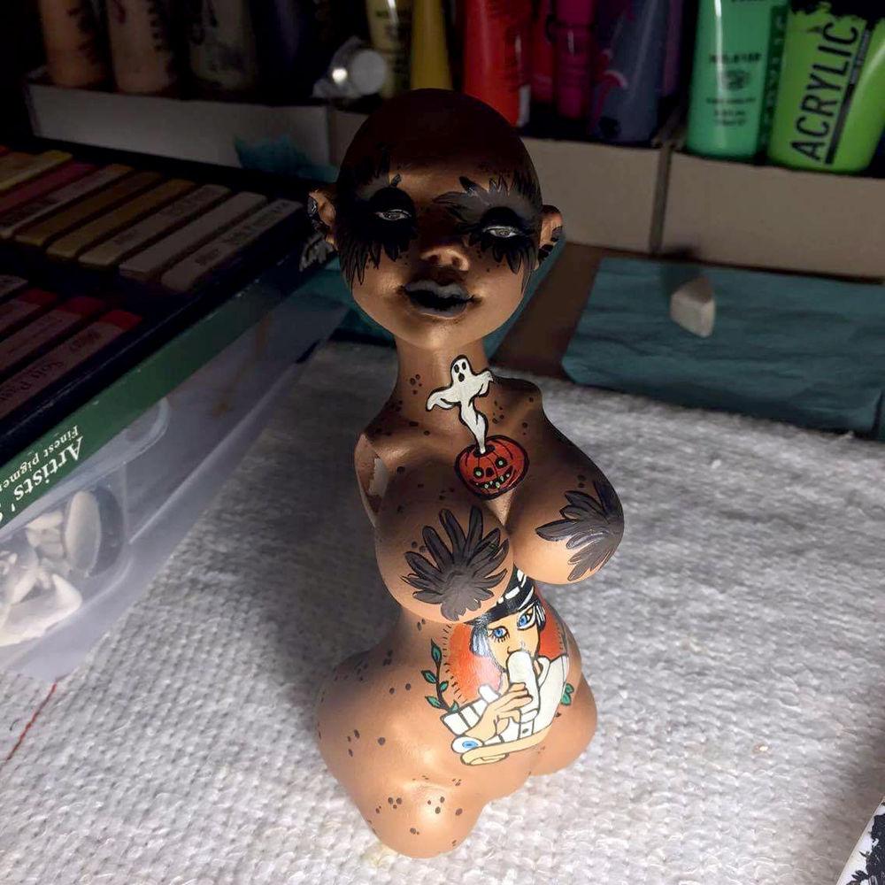 helloween, bjd doll, подарок девушке, ooak, коллекционная игрушка, единственный экземпляр