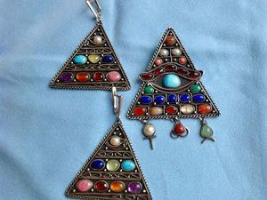 Комментарии к комплекту Мистическая Пирамида.. Ярмарка Мастеров - ручная работа, handmade.