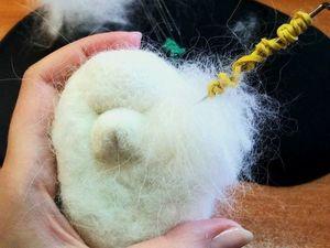 Как подготовить собачью шерсть для валяния. Ярмарка Мастеров - ручная работа, handmade.