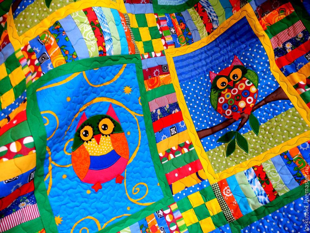 подарок ребенку, лоскутное одеяло в подарок
