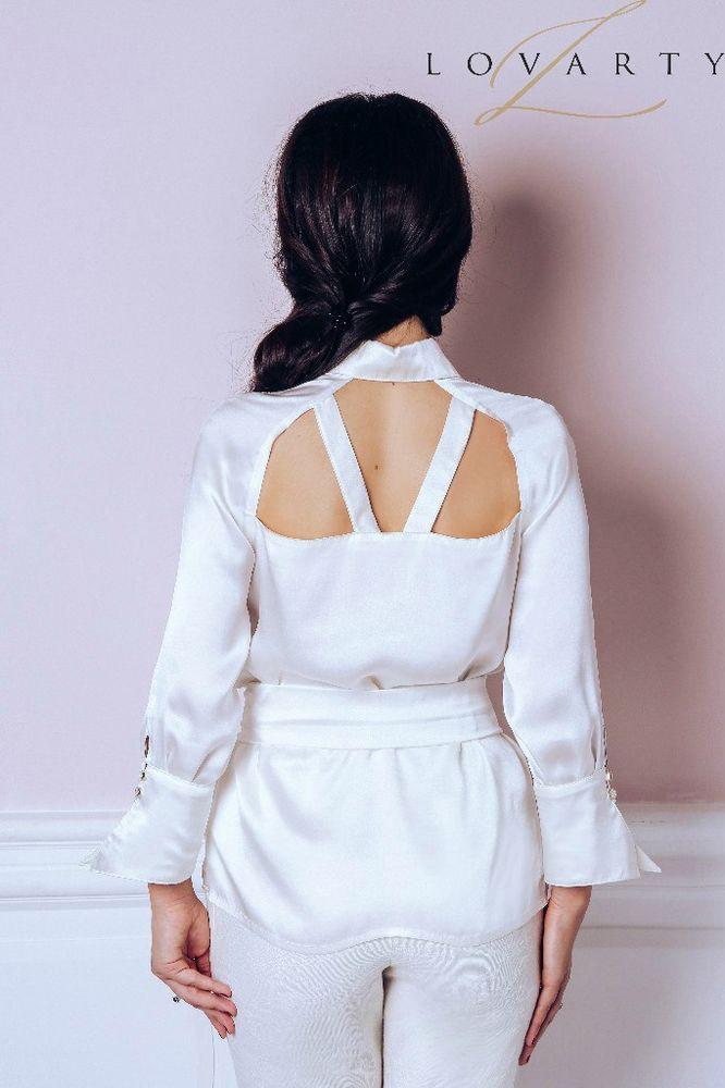блузка из шелка, кимоно