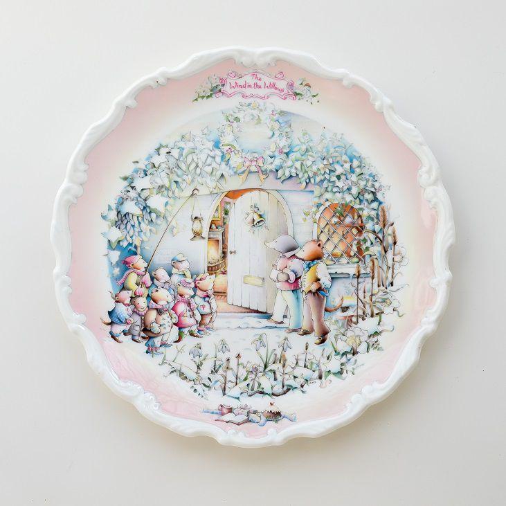 тарелка на стену, винтаж