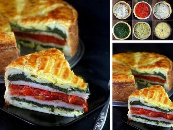 Пирог «мИланский»: Яркость Ингредиентов  и Взрыв Вкуса | Ярмарка Мастеров - ручная работа, handmade