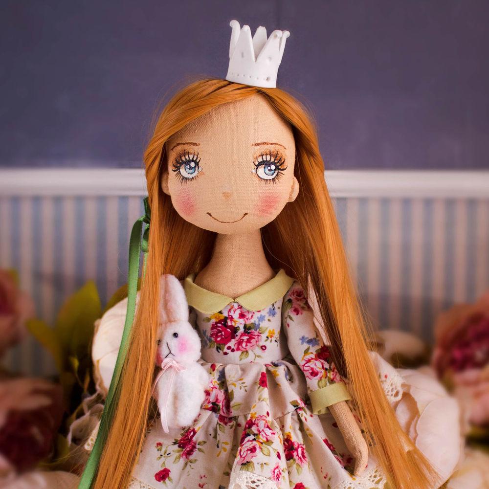 купить авторская кукла, веселая и нежная кукла