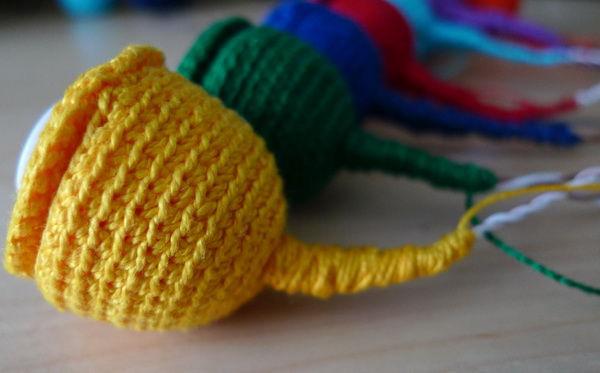 Делаем сами развивающую игрушку «Волшебный цветок», фото № 5