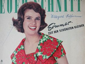 Neuer Schnitt — старый немецкий журнал мод 4/1960. Ярмарка Мастеров - ручная работа, handmade.