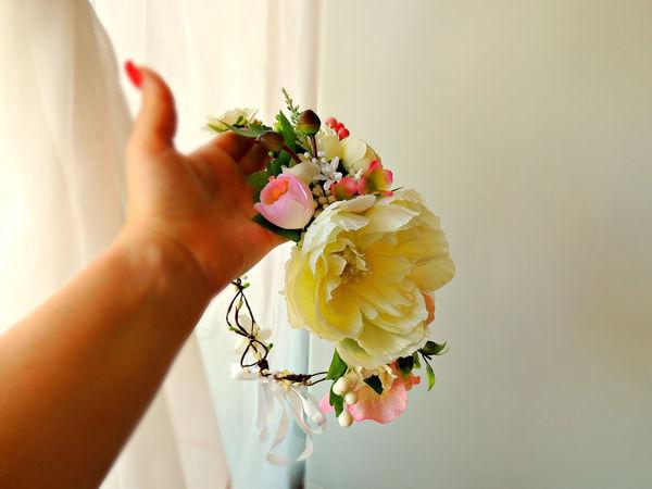 Второй магазин с цветочными ободками, веночками, бутоньерками... | Ярмарка Мастеров - ручная работа, handmade
