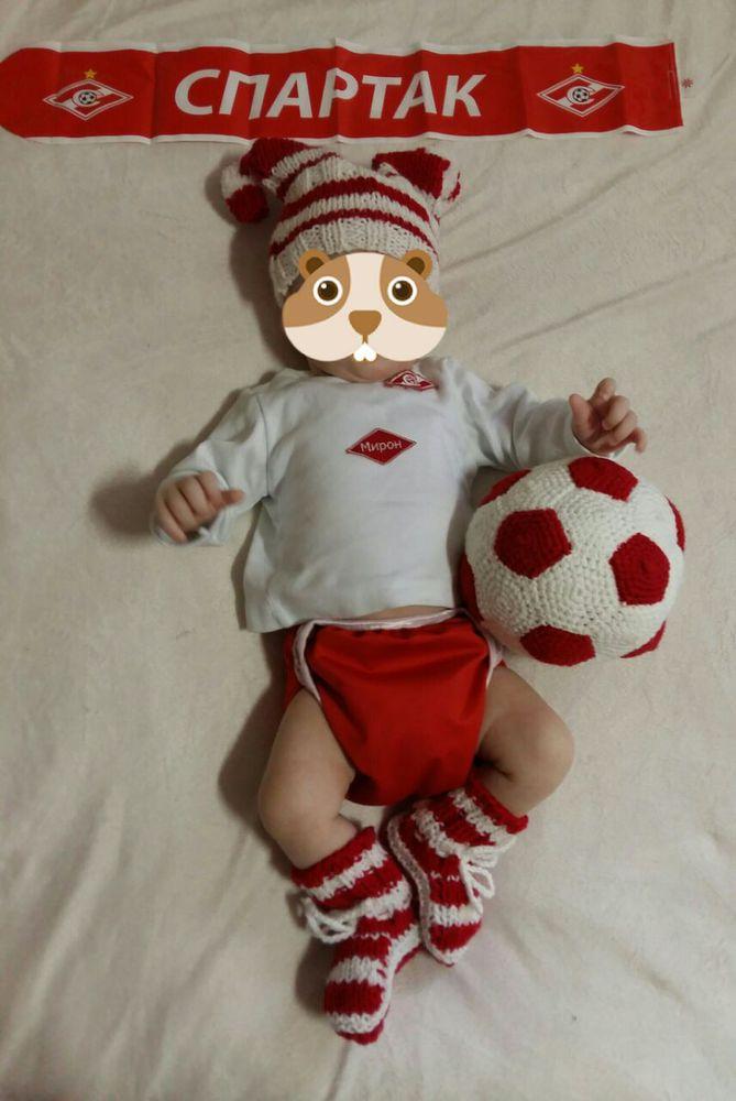 футбольный мяч, вязаный футбольный мяч, футбольная форма, маленький фанат, мяч, игрушка мяч