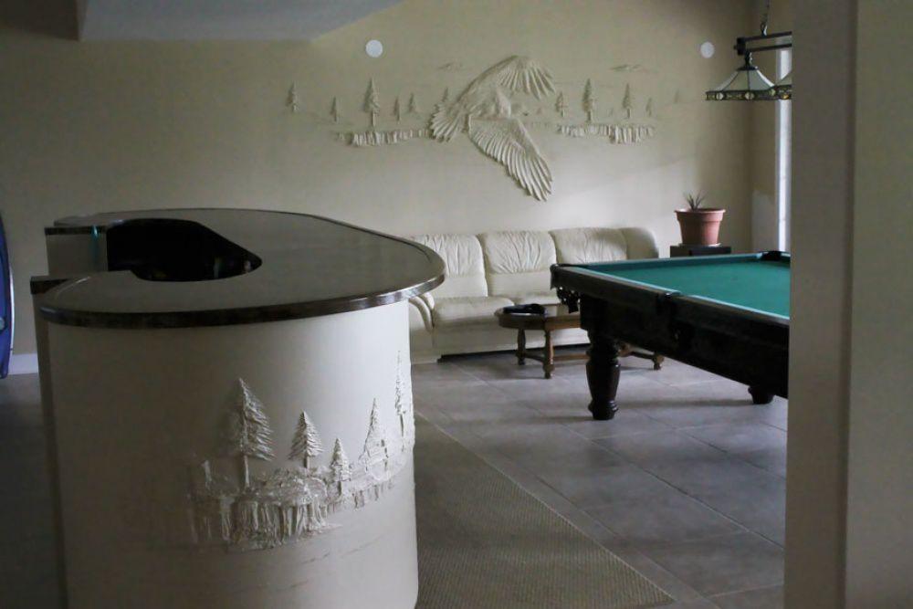 Bernie Mitchell: превращение скучных стен в произведение искусства, фото № 5