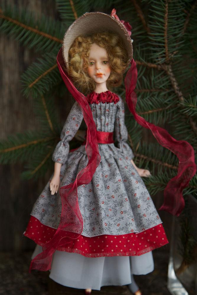 Дополнительные фотографии куклы ручной работы Софии., фото № 2
