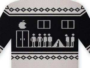 На злобу дня: свитер с оленями, современная версия :)). Ярмарка Мастеров - ручная работа, handmade.