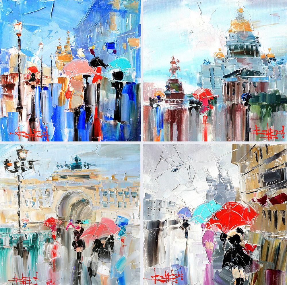 Konstantin Sukhopluev: Artist Painting Rain, фото № 5