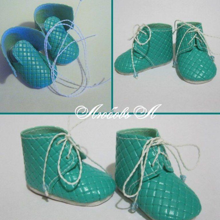 Шьем ботиночки для куклы (МК), фото № 8
