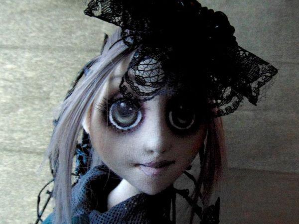 Куколка в мистическом стиле, и немного советов о правильной фотосъемке. | Ярмарка Мастеров - ручная работа, handmade