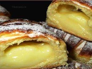 Вкусные Булочки C Французским Кремом | Ярмарка Мастеров - ручная работа, handmade