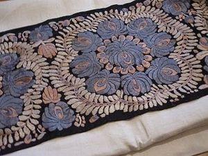 Волшебная вышивка родом из Венгрии — розы Матьо. Ярмарка Мастеров - ручная работа, handmade.