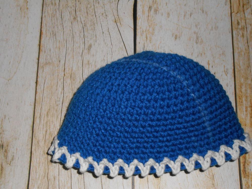 вяжем шапку крючком