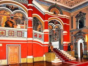 Русская традиция-разноцветные интерьеры | Ярмарка Мастеров - ручная работа, handmade