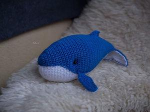 Вязаный кит Дилан. Ярмарка Мастеров - ручная работа, handmade.
