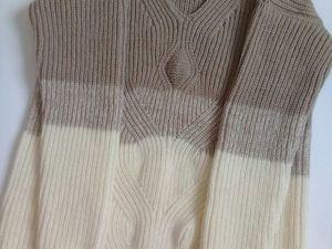 Всего 1 день свитер 3000(доставка в подарок). Ярмарка Мастеров - ручная работа, handmade.