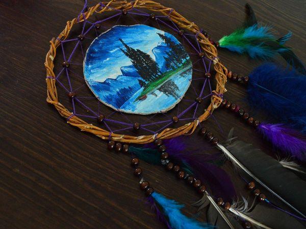 Результаты мастер-класса по расписным ловцам снов | Ярмарка Мастеров - ручная работа, handmade