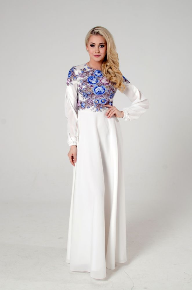 белое платье впол, 8 марта подарок