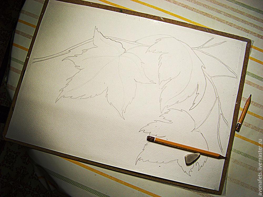 акварельная живопись