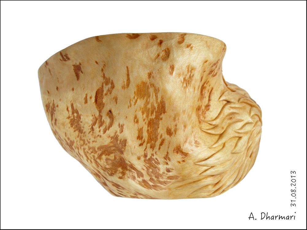 украшение интерьера, деревянная посуда