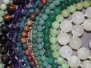 Пополнение ассортименте (бусины из натуральных камней). Ярмарка Мастеров - ручная работа, handmade.