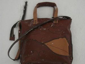 Новая кожаная сумка уже в продаже!. Ярмарка Мастеров - ручная работа, handmade.