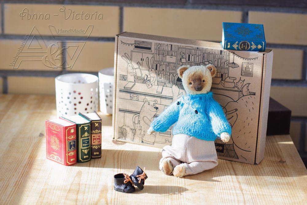 мишка в свитерочке