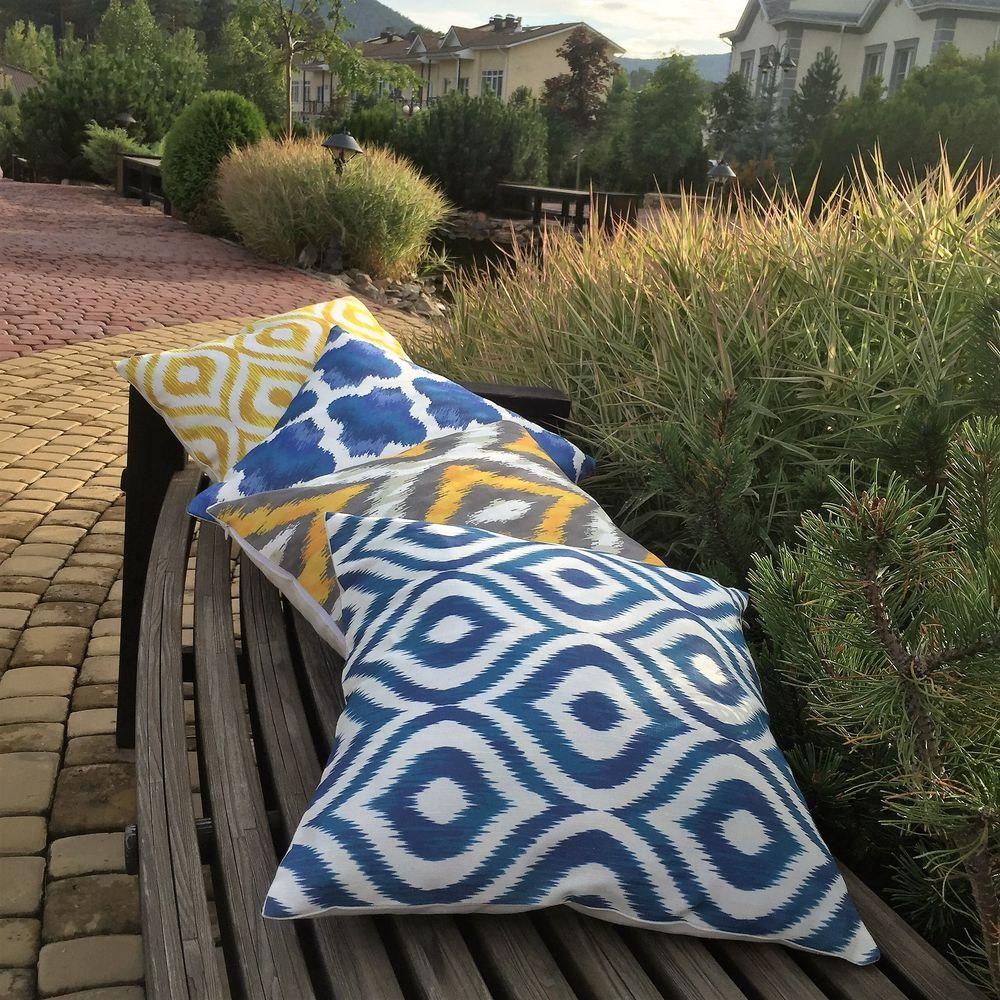 подушки, комплект украшений, оформление интерьера, восточный стиль, дизайн интерьера