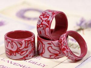 Видео мастер-класс: как сделать цельное кольцо любого размера из полимерной глины. Ярмарка Мастеров - ручная работа, handmade.