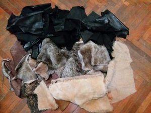 Отдам даром остатки натурального меха и кожи. Санкт-Петербург, самовывоз | Ярмарка Мастеров - ручная работа, handmade