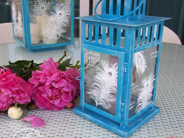 Видео мастер-класс: декорируем садовый фонарь меловыми красками | Ярмарка Мастеров - ручная работа, handmade