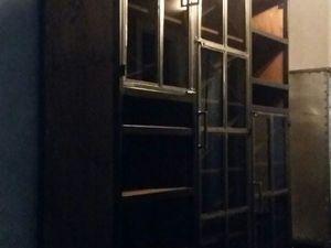 Шкаф в стиле лофт винный. Ярмарка Мастеров - ручная работа, handmade.