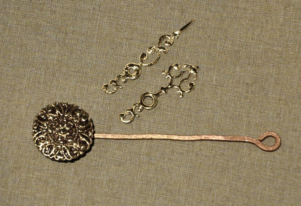 Создаем сказочные декоративные часы для большой елки, фото № 23