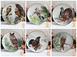 1984 год. Коллекция красивых птиц.. Ярмарка Мастеров - ручная работа, handmade.