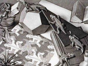Парадоксальные миры Maurits Cornelis Escher. Ярмарка Мастеров - ручная работа, handmade.