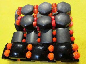 """"""" ЯРКОЕ ЛЕТО!"""" — распродажа всей черно-оранжевой коллекции. Ярмарка Мастеров - ручная работа, handmade."""