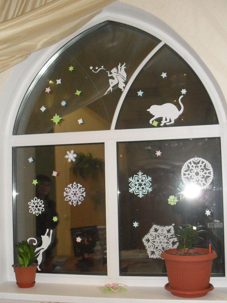 украшение окна, декор дома