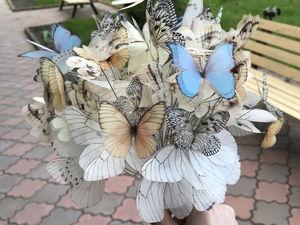 Букет из Бабочек!. Ярмарка Мастеров - ручная работа, handmade.