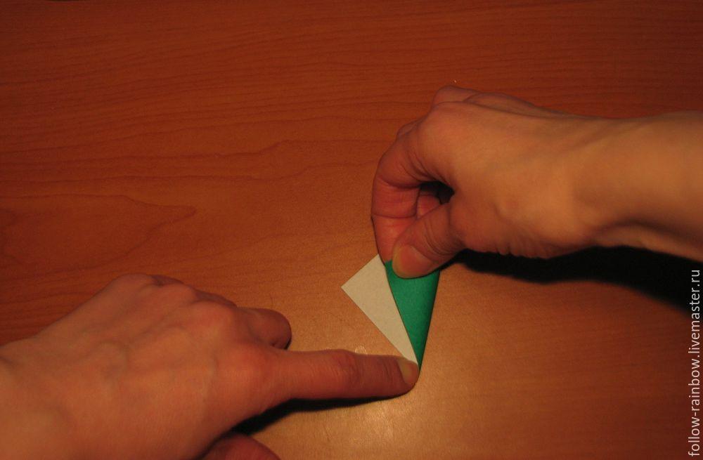 базовые формы оригами, мастер-класс по оригами