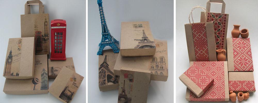 выкройки упаковки, единый стиль