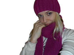 Такая шапочка уж точно не лишняя зимой! Участвуйте и выигрывайте! | Ярмарка Мастеров - ручная работа, handmade