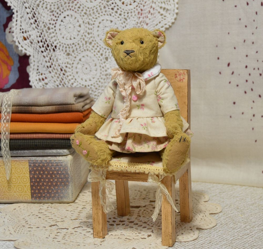 стул для кукол и мишек, мишки тедди